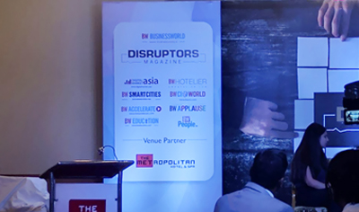 BW Business world Disruptor 2017