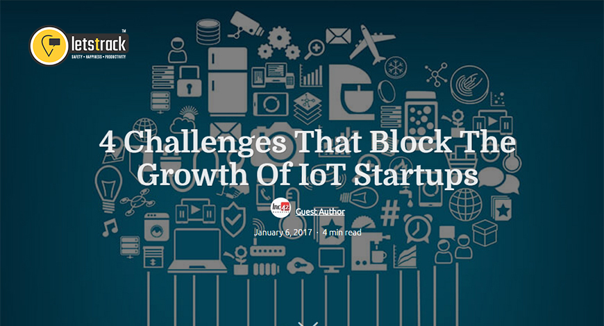 4 Challenges That Block The Growth Of IoT Startups